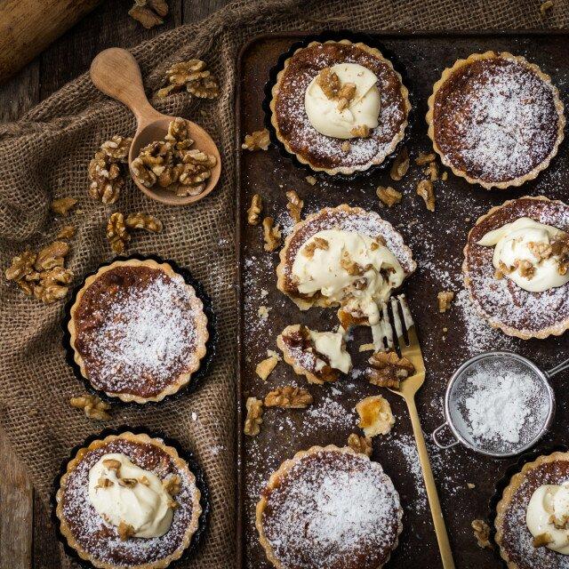 Caramel Walnut Tarts Gluten Free 3