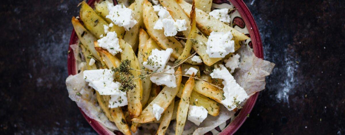 Chunky Greek Oven Fries Recipe