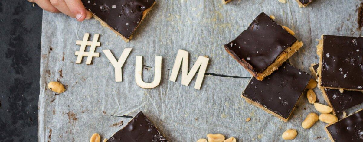 Salted Caramel Peanut Slice Gluten Free RECIPE