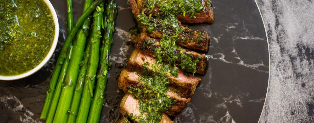 Sizzling Steak with Chimichurri Sauce Recipe