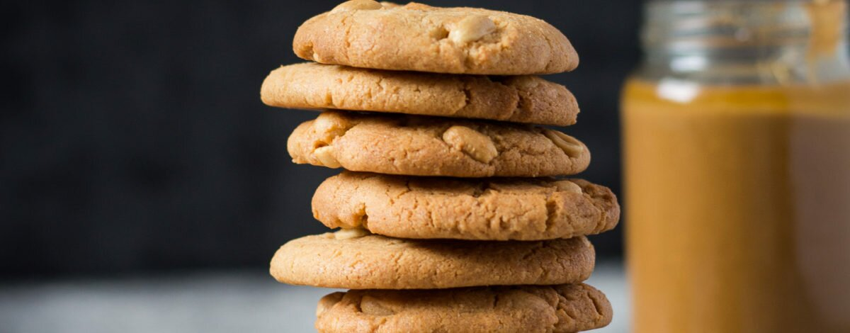Salted Peanut Butter Cookies Gluten Free Recipe